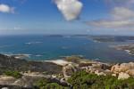 Espectaculares vistas desde lo alto del Monte Pindo