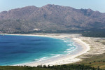 Playa de Carnota, la más grande de Galicia